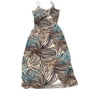 Point Zero Nicole Benisti Maxi Dress, XL